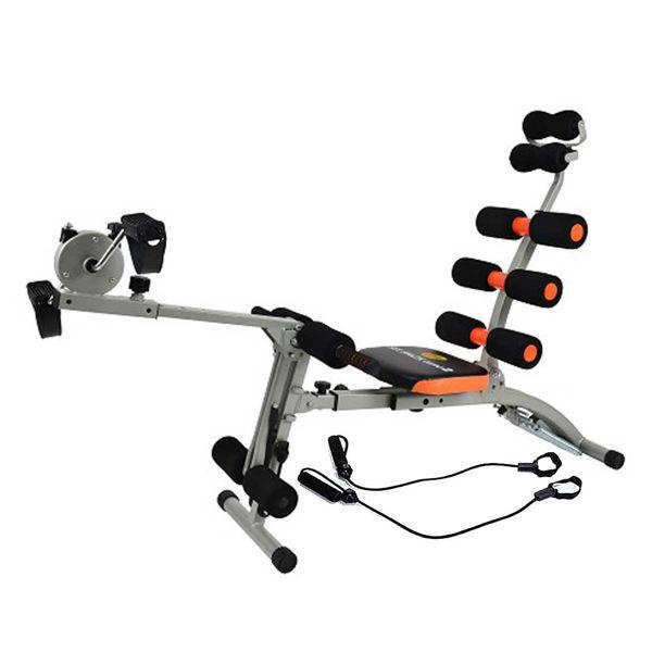 صورة جهاز تمارين عضلات البطن و الارداف مع دراجة