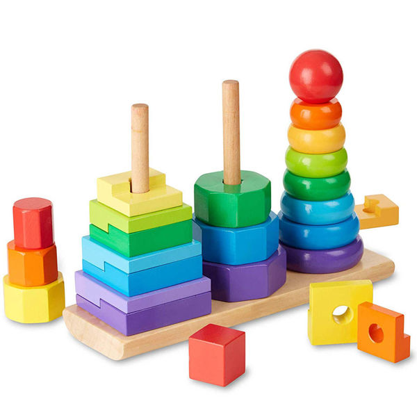 Picture of Geometric Stacking Blocks
